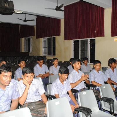 Senior Students Of Pshs School In The Audience
