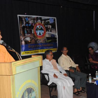 Swamijis Address Another View Of Dais